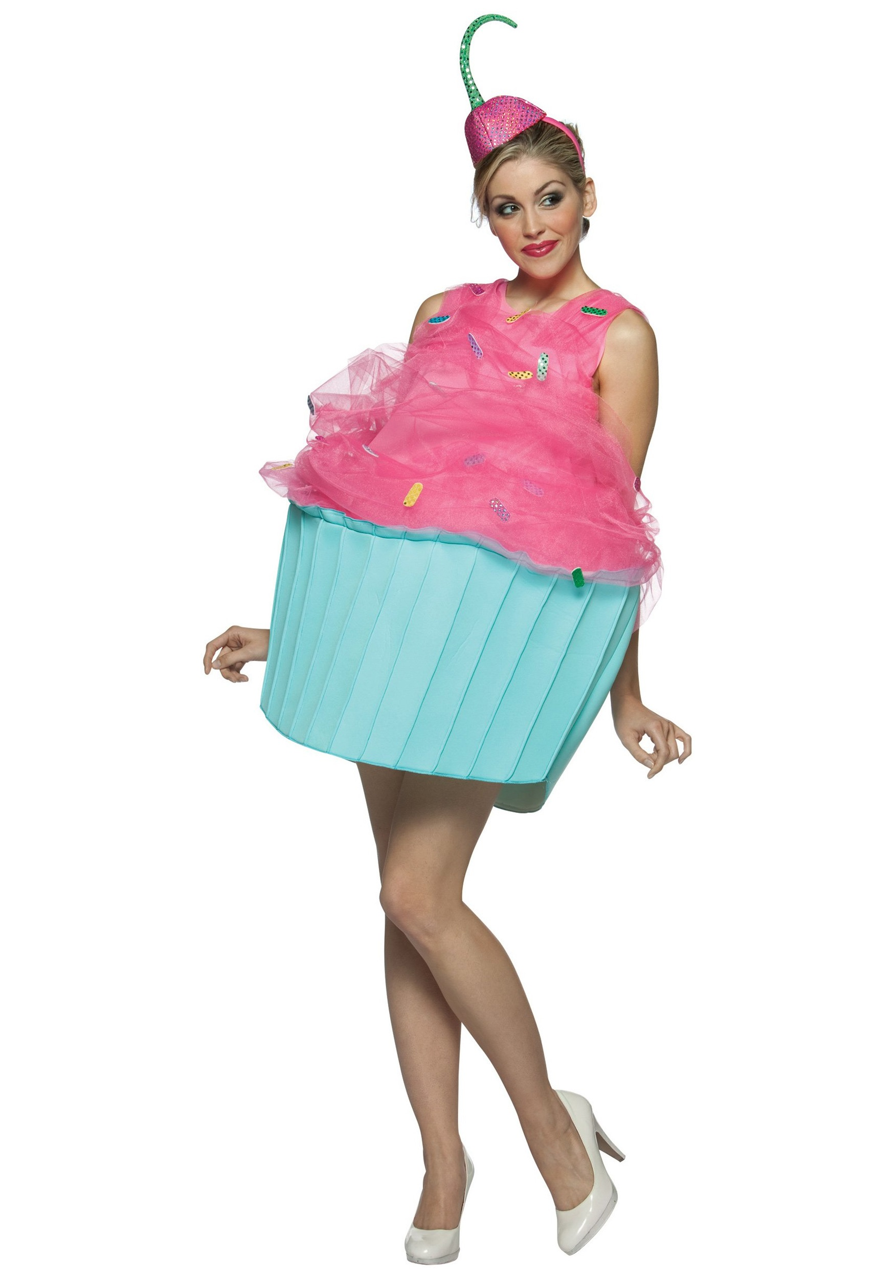 Food costumes adult kids food and drink halloween costume ideas womens cupcake costume solutioingenieria