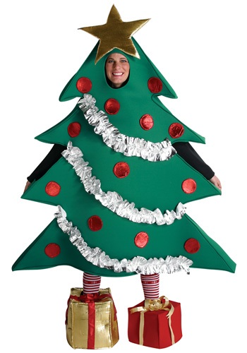 Click Here to buy Christmas Tree Costume from HalloweenCostumes, CDN Funds