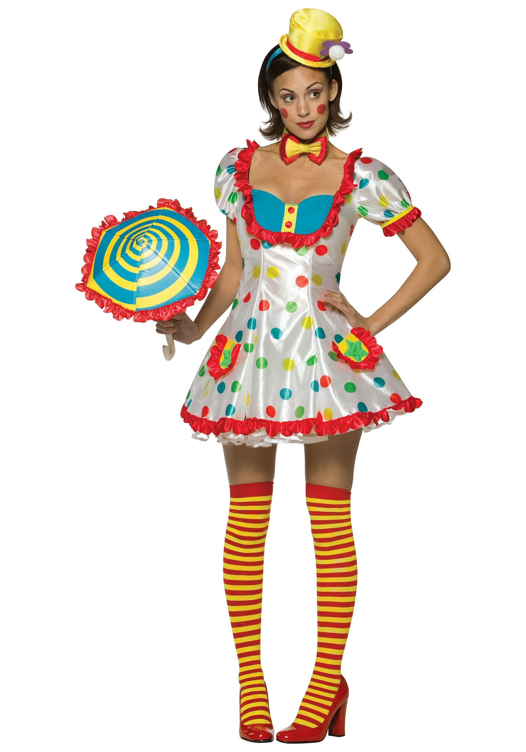 sexy womens clown costume. Black Bedroom Furniture Sets. Home Design Ideas