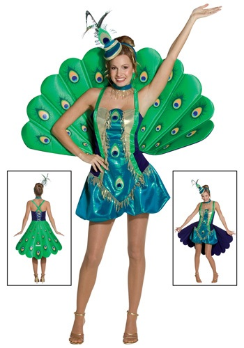 Womens Peacock Costume By: Rasta Imposta for the 2015 Costume season.