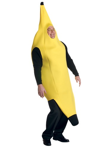 Click Here to buy Plus Size Banana Costume from HalloweenCostumes, USA Funds & Shipping