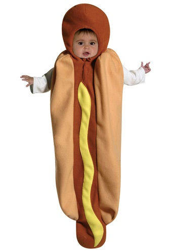 Hot Dog Baby Buting Costume
