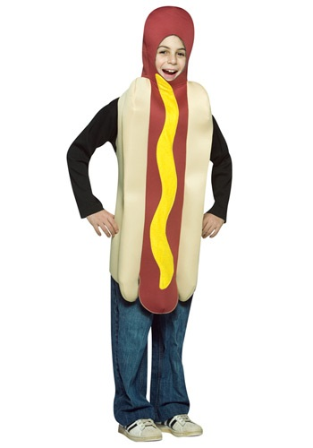 Kids Hot Dog Costume By: Rasta Imposta for the 2015 Costume season.