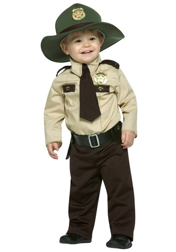 Infant State Trooper Costume - Baby Police Costumes