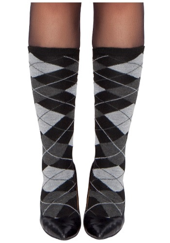 Woman's Argyle Stockings