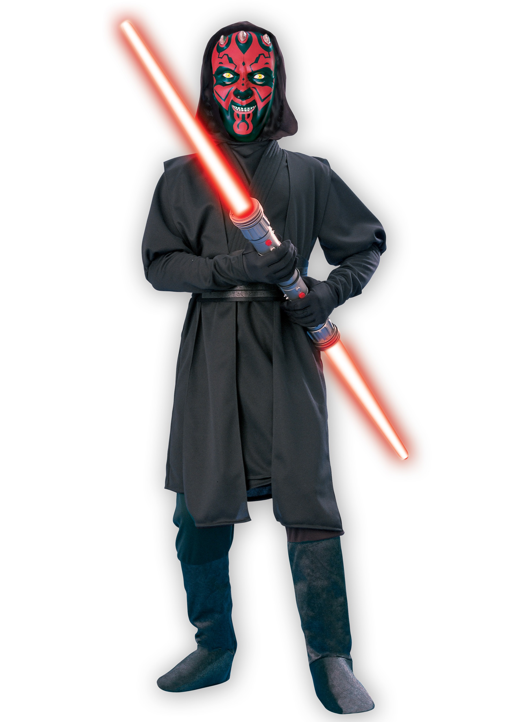 child darth maul deluxe costume. Black Bedroom Furniture Sets. Home Design Ideas