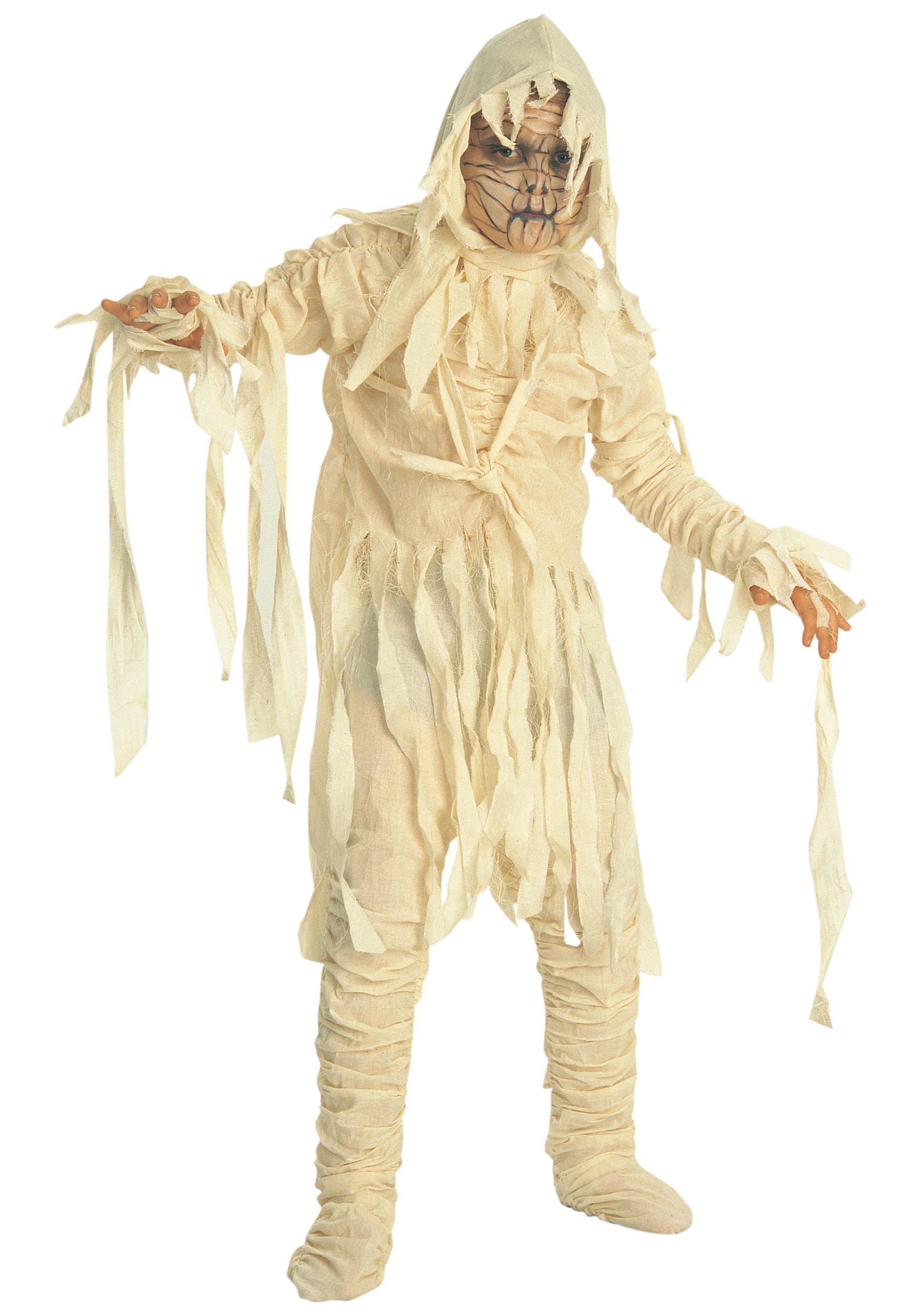 the mummy child costume. Black Bedroom Furniture Sets. Home Design Ideas