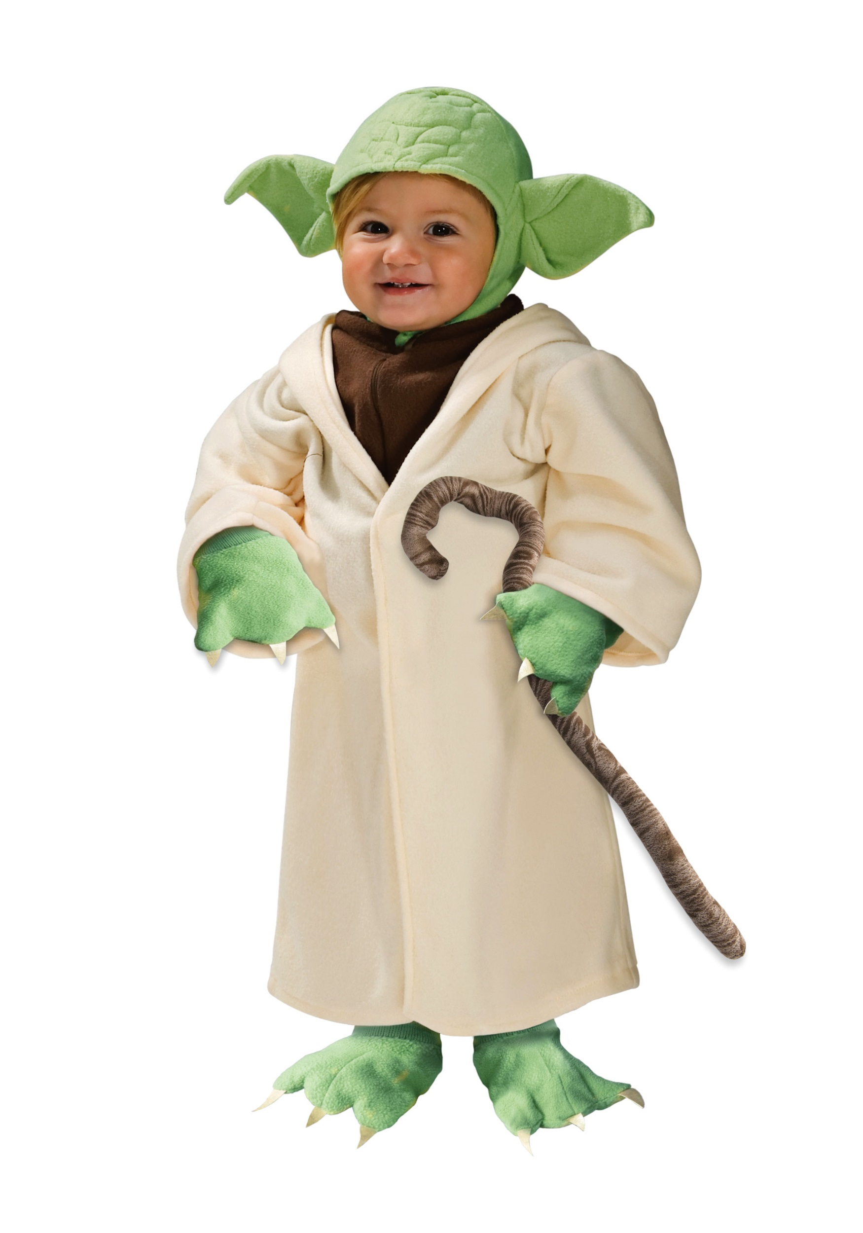 Child yoda toddler costume for Children s halloween costume ideas