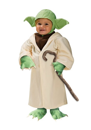 Child Yoda Toddler Costume By: Rubies Costume Co. Inc for the 2015 Costume season.