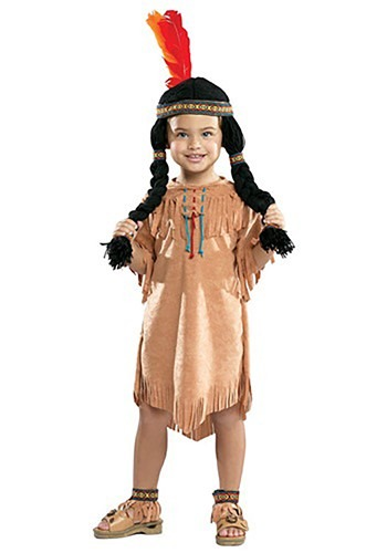 Indian Girl Toddler Costume