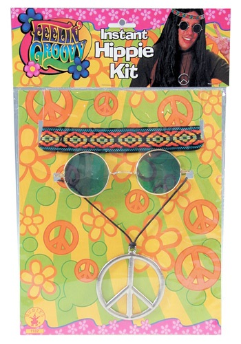 Click Here to buy Mens 1960s Accessory Kit from HalloweenCostumes, CDN Funds