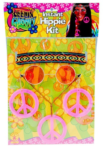 Click Here to buy Womens 1960s Accessory Kit from HalloweenCostumes, CDN Funds