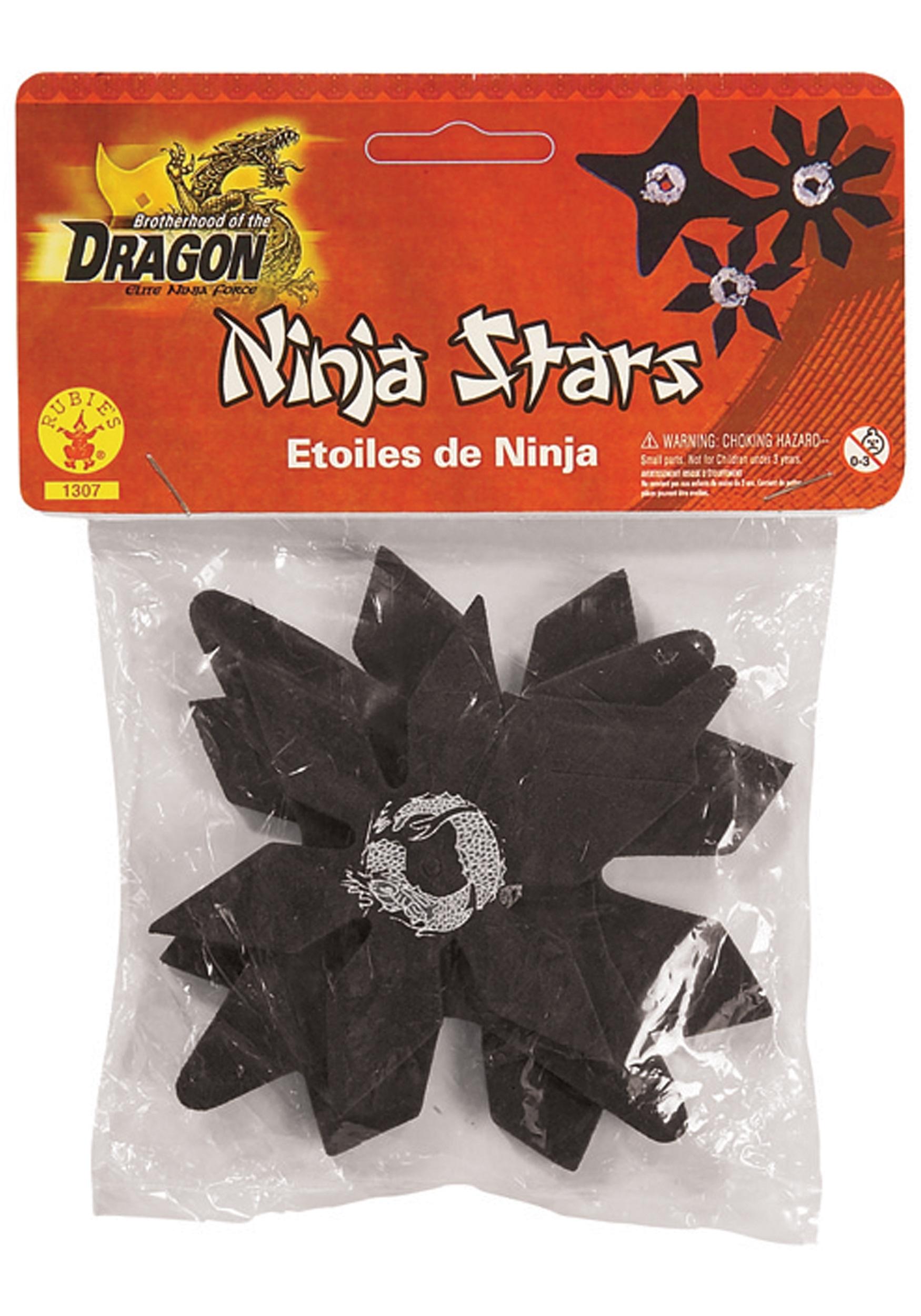 Black Ninja Stars RU1307