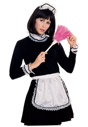 Click Here to buy French Maid Accessory Kit from HalloweenCostumes, CDN Funds