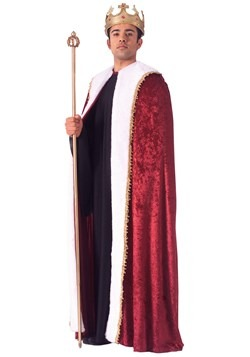 King of Hearts Robe Costume for Men Update 1