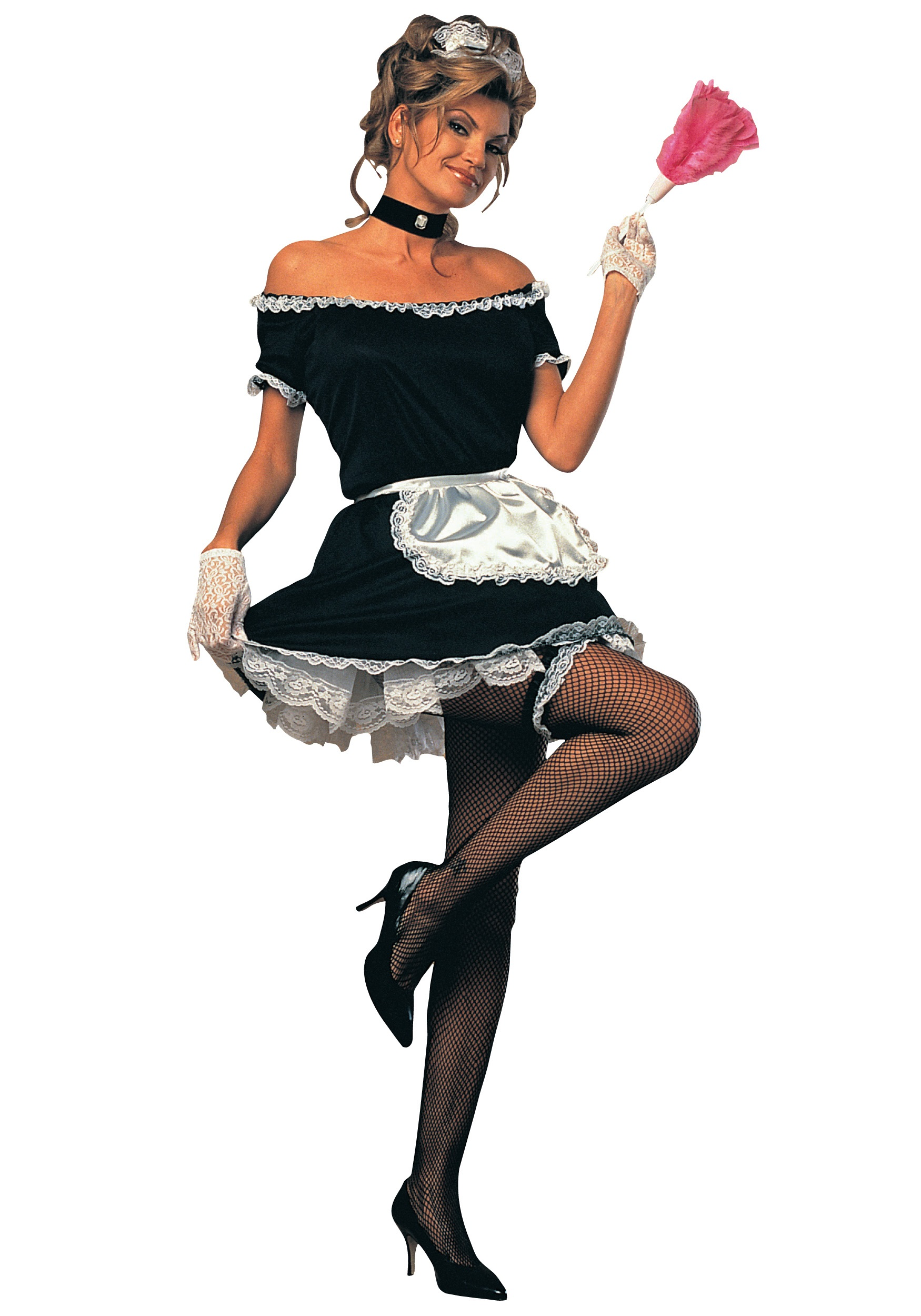 Womenu0027s French Maid Costume  sc 1 st  Halloween Costumes & Womenu0027s French Maid Costume - Adult French Maid Halloween Costumes