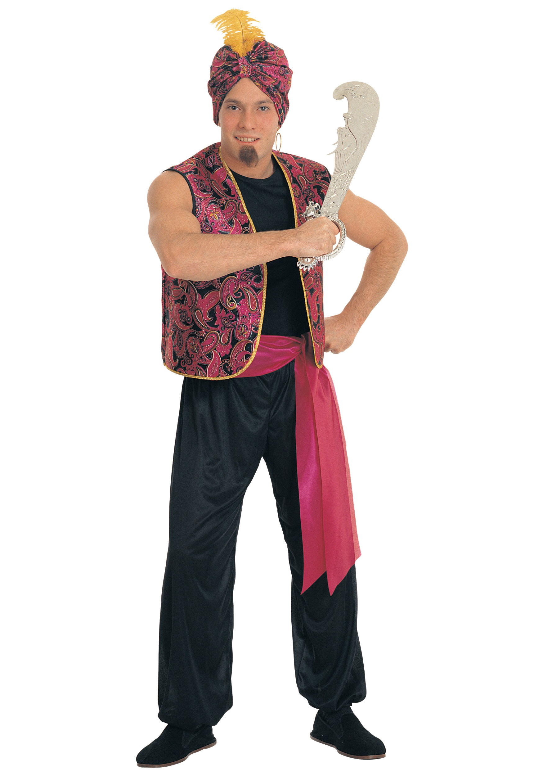 Mens Sultan Costume  sc 1 st  Halloween Costumes & Menu0027s Sultan Costume