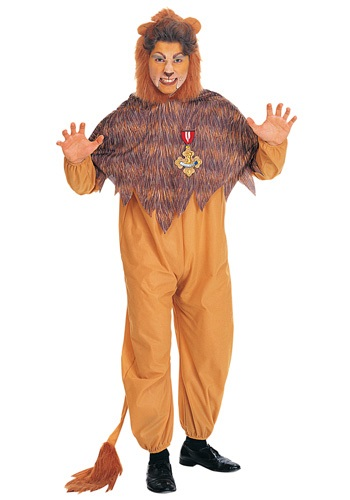 Cowardly Lion Costume for Adults