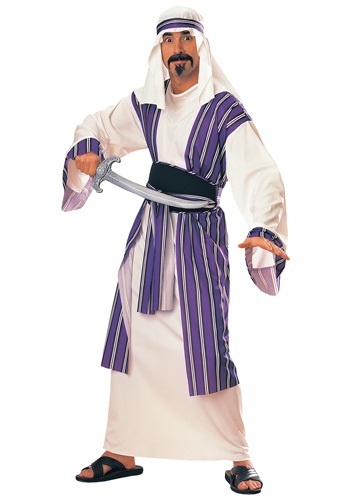 Click Here to buy Adult Desert Prince Costume from HalloweenCostumes, USA Funds & Shipping