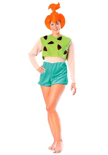Pebbles Flintstone Adult  Costume - Flintstones Pebbles Costumes By: Rubies Costume Co. Inc for the 2015 Costume season.