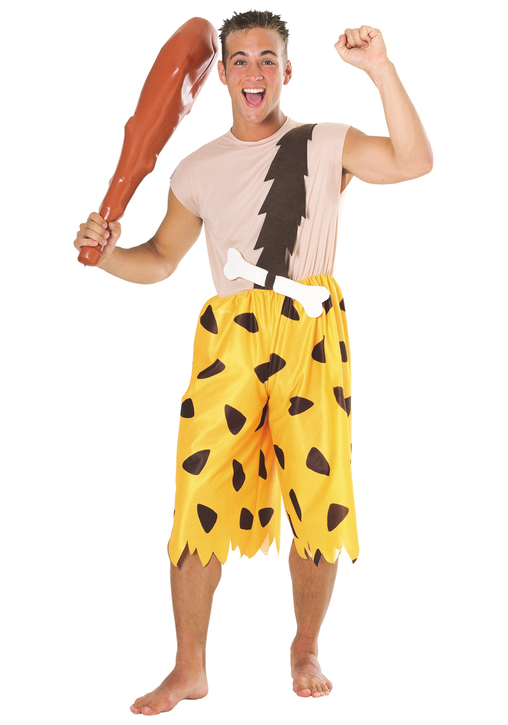 Bamm Bamm Adult Costume  sc 1 st  Halloween Costumes : bam bam costume for adults  - Germanpascual.Com