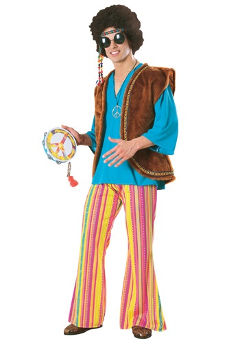 Click Here to buy Mens Woodstock Costume from HalloweenCostumes, USA Funds & Shipping