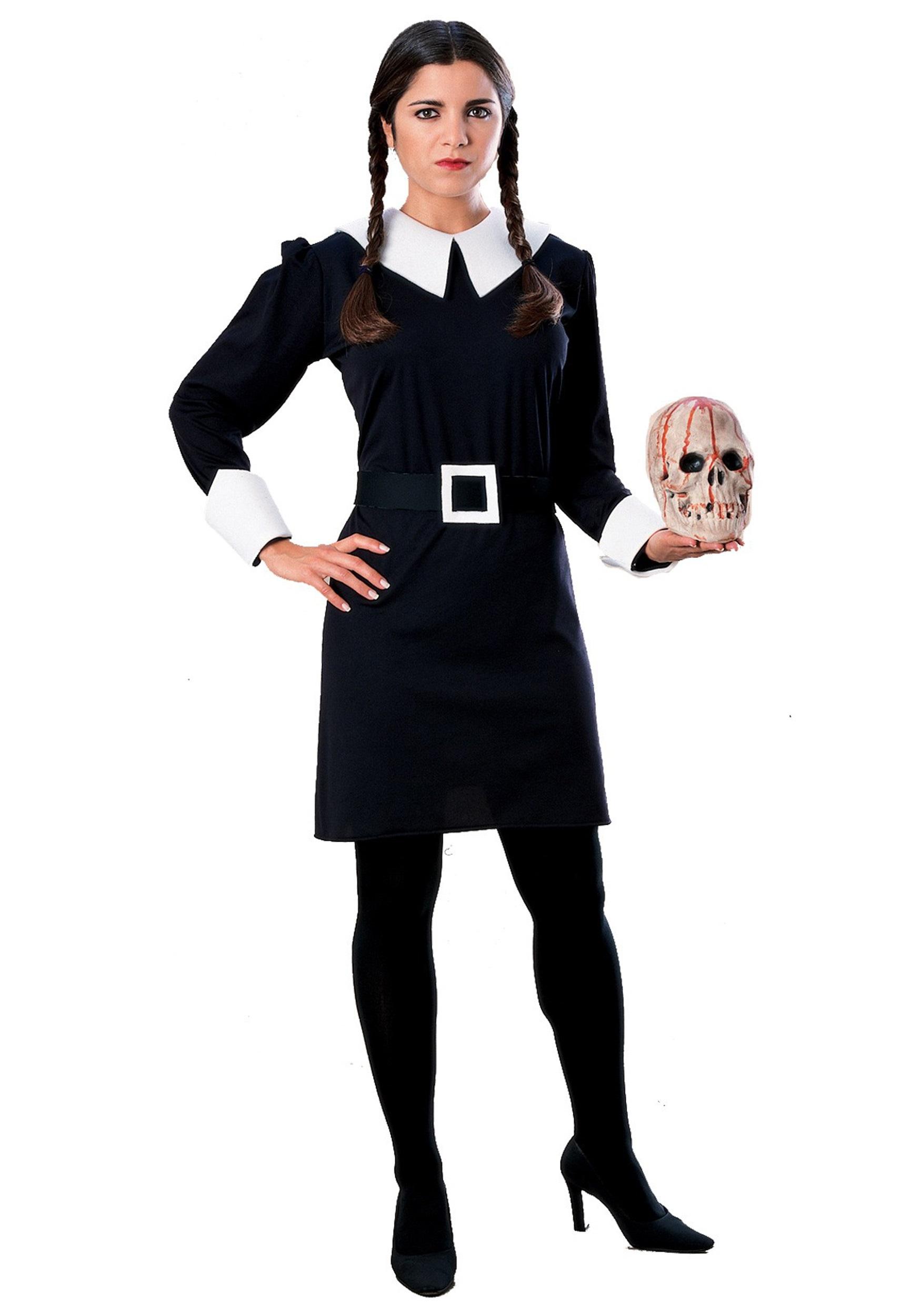 Adult Wednesday Addams Costume - Addams Family Halloween Costumes