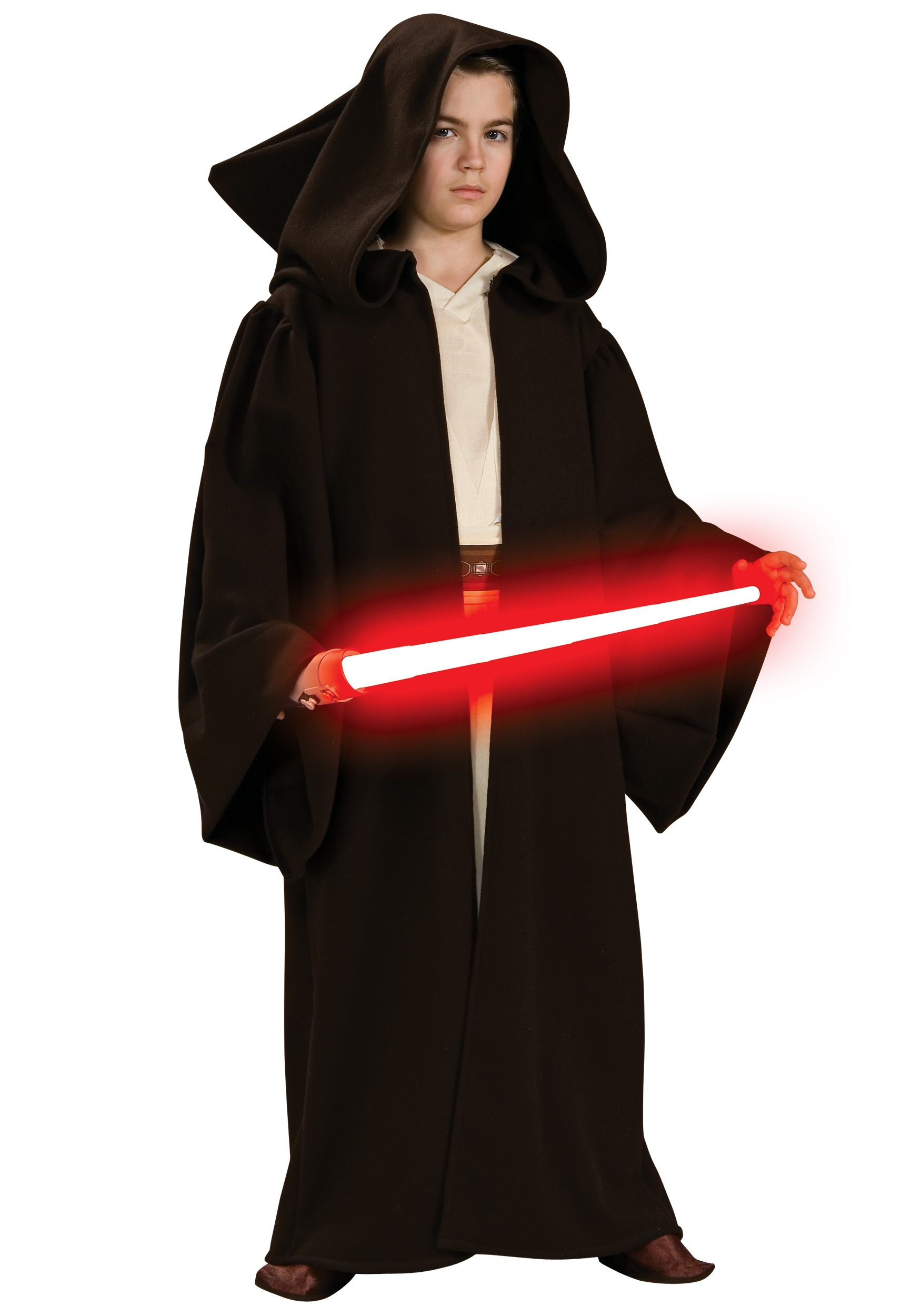 Blue Star Blade Reviews >> Child Deluxe Sith Robe - Star Wars Kids Halloween Costumes