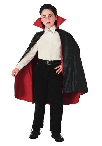 Child Reversible Vampire Cape By: Rubies Costume Co. Inc for the 2015 Costume season.