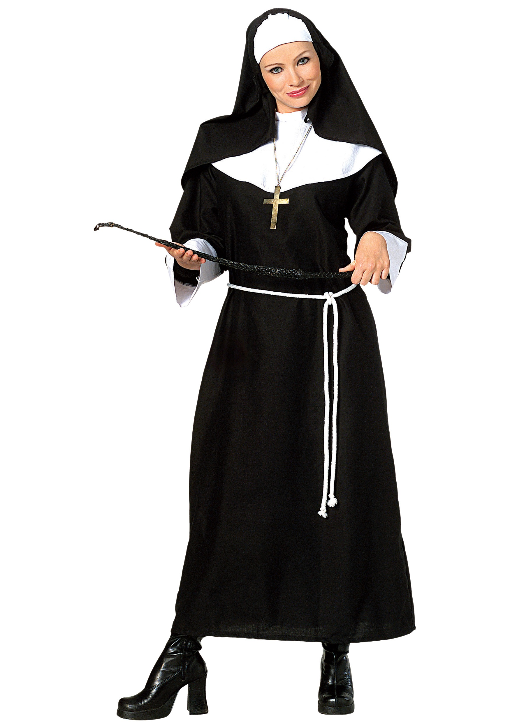 sc 1 st  Halloween Costumes & Adult Classic Nun Costume
