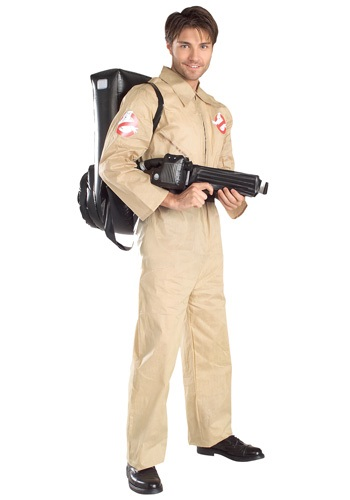 Click Here to buy Ghostbusters Costume for Adults from HalloweenCostumes, USA Funds & Shipping
