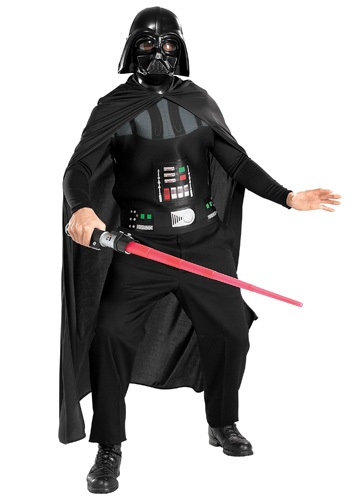Click Here to buy Darth Vader Adult Costume from HalloweenCostumes, CDN Funds