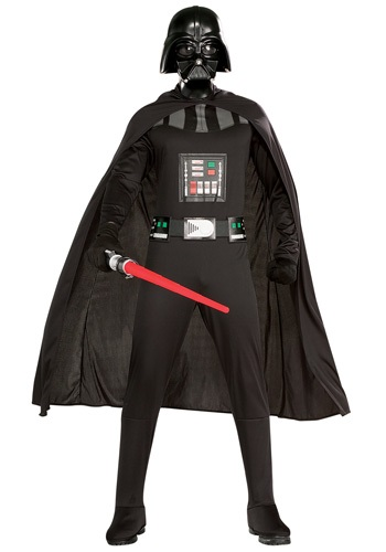 Click Here to buy Adult Darth Vader Costume from HalloweenCostumes, USA Funds & Shipping
