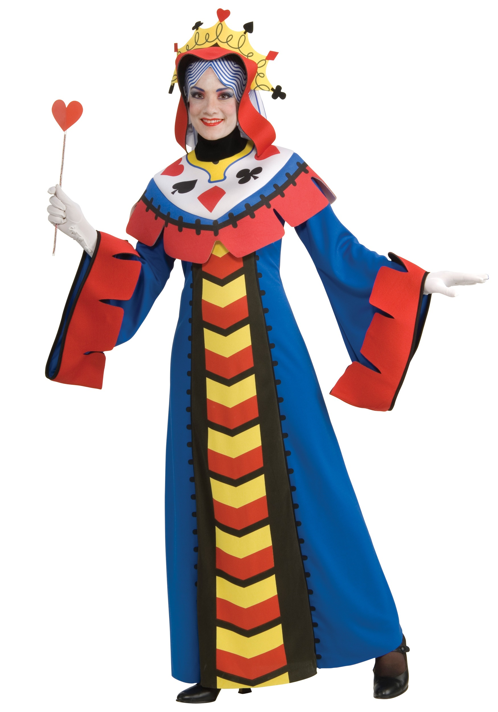queen of hearts playing card costume ebay. Black Bedroom Furniture Sets. Home Design Ideas