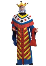 King of Hearts Playing Card Costume