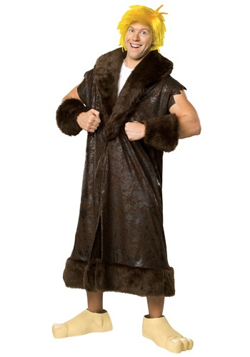 Click Here to buy Adult Deluxe Barney Rubble Costume from HalloweenCostumes, CDN Funds