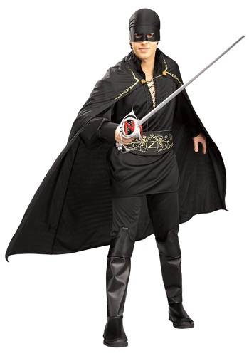 Adult Mens Zorro Costume By: Rubies Costume Co. Inc for the 2015 Costume season.