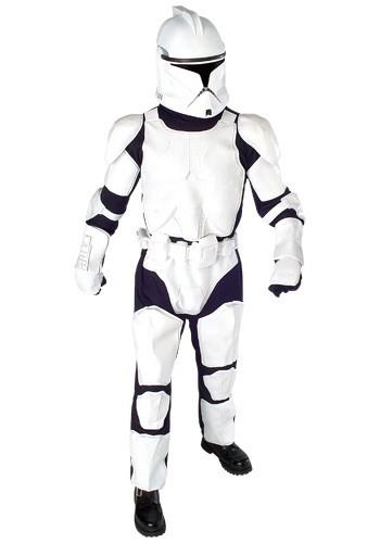 Star Wars Clone Trooper Deluxe Costume By: Rubies Costume Co. Inc for the 2015 Costume season.