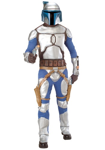 Click Here to buy Jango Fett Deluxe Costume from HalloweenCostumes, CDN Funds