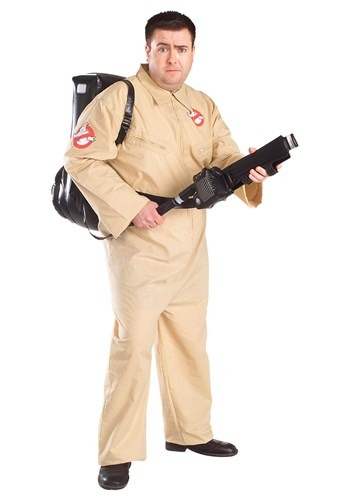 Click Here to buy Ghostbusters Plus Size Costume from HalloweenCostumes, USA Funds & Shipping
