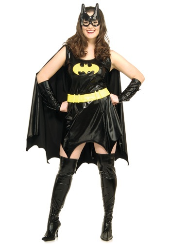 Click Here to buy Plus Size Adult Batgirl Costume from HalloweenCostumes, USA Funds & Shipping