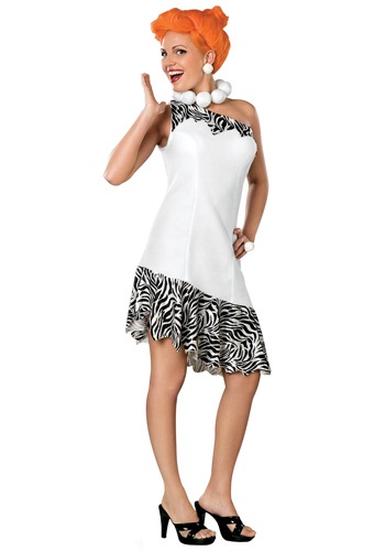 Click Here to buy Plus Size Wilma Flintstone Halloween Costume from HalloweenCostumes, USA Funds & Shipping