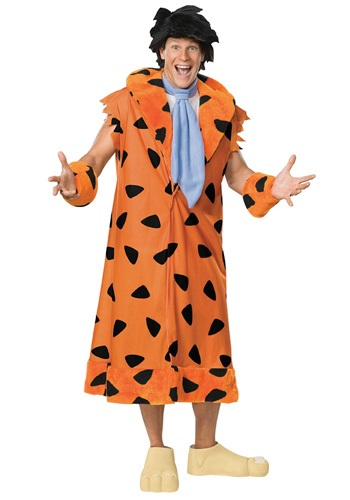 Click Here to buy Fred Flintstone Plus Size Costume from HalloweenCostumes, USA Funds & Shipping
