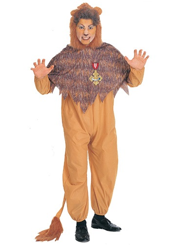 Plus Size Cowardly Lion Costume By: Rubies Costume Co. Inc for the 2015 Costume season.