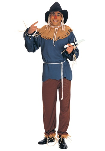 Click Here to buy Plus Size Scarecrow Costume 1X/3X from HalloweenCostumes, CDN Funds