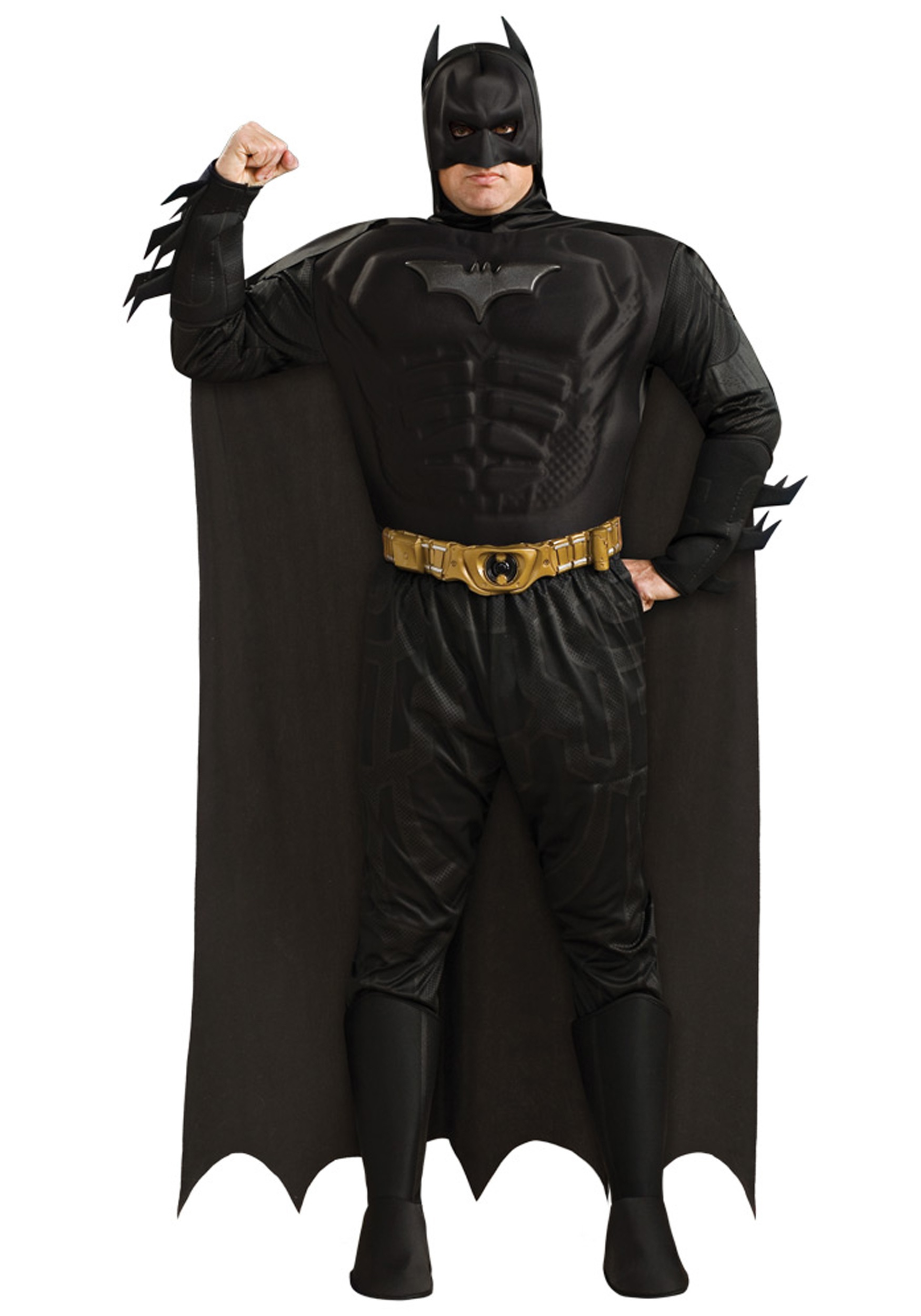 Mens Plus Size Batman Costume  sc 1 st  Halloween Costumes & Mens Plus Size Batman Costume 1X