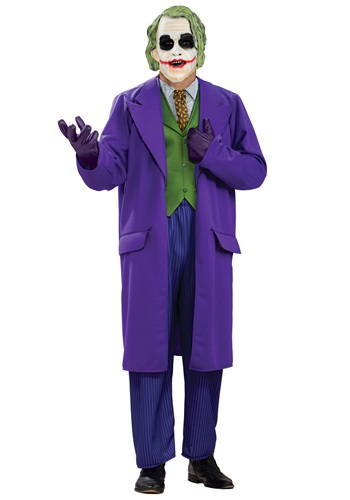 Click Here to buy Plus Size Deluxe Joker Costume 1X from HalloweenCostumes, CDN Funds