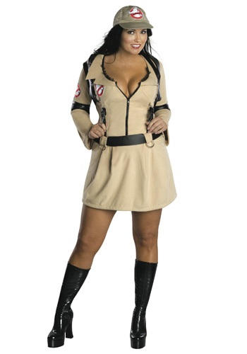 Plus Size Sexy Ghostbusters Costume - Adult Ghostbuster Costumes By: Rubies Costume Co. Inc for the 2015 Costume season.