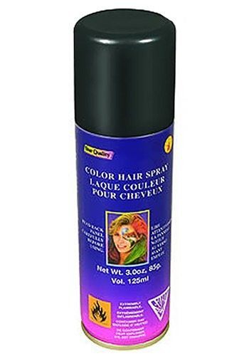 Black Hair Spray