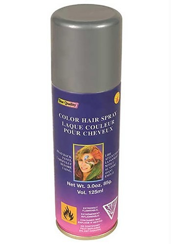 Silver Hair Spray By: Rubies Costume Co. Inc for the 2015 Costume season.